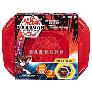 Bakugan Baku-Storage Case  Red  Collectible Action Figures for Ages 6 and Up