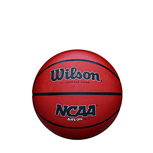 Find Discount Wilson NCAA MVP Rubber Basketball, Elementary - 25.5