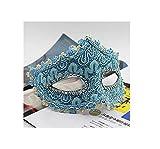 ERTY&OMB Máscara de Halloween Forro de Cuero de dragón Sin máscara...