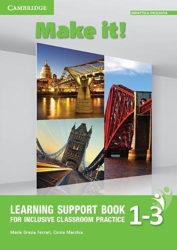 Make It! Levels 1–3 Learning Support Book [Lingua inglese]
