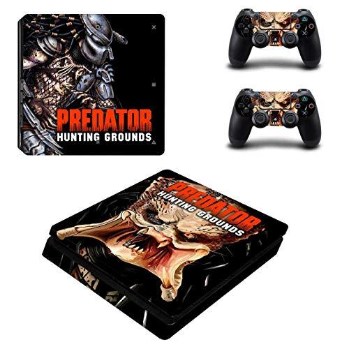 XIANYING Predator Jagdrevier Ps4 Slim Sticker Play Station 4 Skin Sticker Aufkleber Für Playstation 4 Ps4 Slim Console & Controller Skins