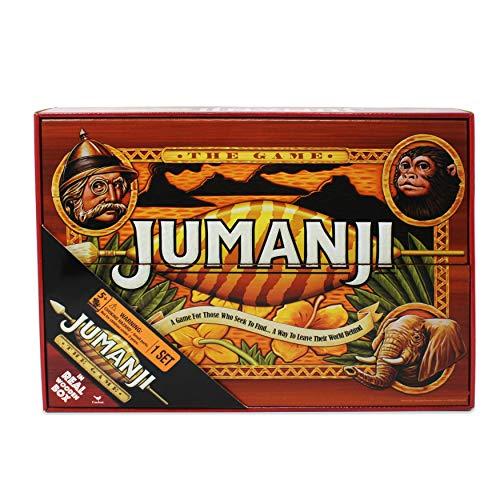 Spin Master Massivholzkopie des Jumanji-Spiels (italienische Version)