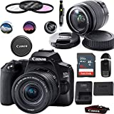 EOS 250D DSLR Camera with EF-S 18-55mm Lens - Basic Accessories Bundle