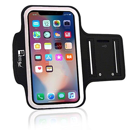 RevereSport Sportarmband kompatibel iPhone X/XS. Armband Telefon Handyhalter Case für Laufen, Workout, Joggen und Fitness