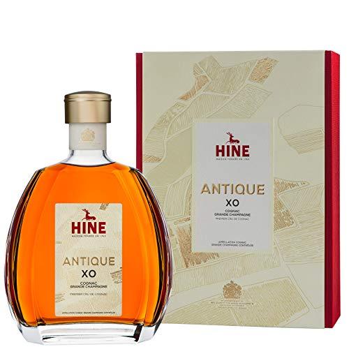 HINE ANTIQUE XO Cognac Grande Champagne Premier Cru de Cognac (1x0,7l) - aus dem Hause Thomas Hine - Herkunft Jarnac, Region Cognac, Frankreich - Blend aus mehr als 40 Destillaten