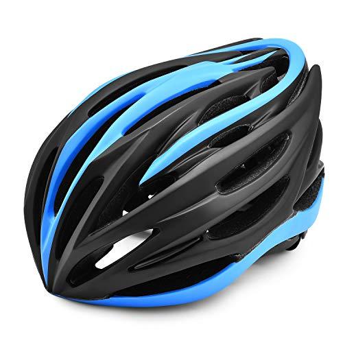 Lixada Casco de Bicicleta de Montaña Ligero Ajustable con Suave Retirable Almohadilla...