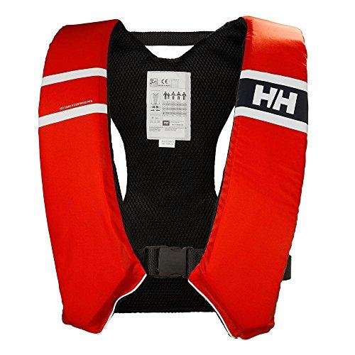 Helly Hansen Unisex– Erwachsene Comfort Compact 50N Schwimmweste, Alert Red, 50/70