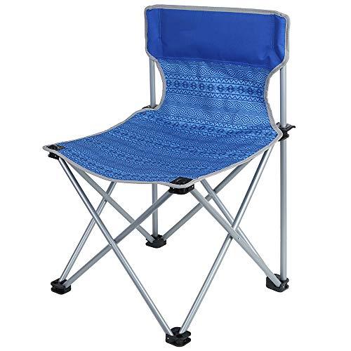 Klappbarer Campingstuhl - Komfortabler, Rutschfester Winkel Tragbare und Bequeme Aufbewahrung - Sehr geeignet für Outdoor-Campingautos Wandern/Tragen von 100 kg
