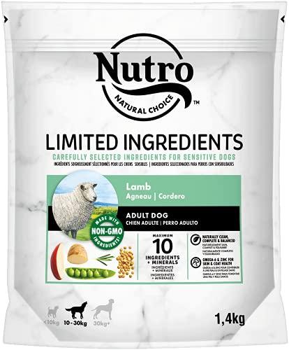 NUTRO - Croquettes Limited Ingredient Agneau pour Chien - 1,4Kg