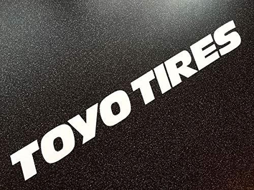 myrockshirt Toyo Tires Sponsoraufkleber ca 20cm Aufkleber,Sticker,Decal,Autoaufkleber,UV&Waschanlagenfest,Profi-Qualität