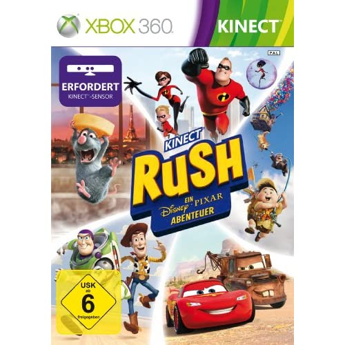 Kinect Rush: A Disney Pixar Adventure (Kinect erforderlich) [Edizione: Germania]