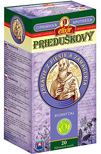 Bronchial Herbal Tea Cyprian | Upper and Lower Respiratory System | Lungs | Pure Natural Herbal Tea Grown in Europe (20 Tea Bags 40g)