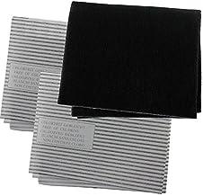 Spares2go Kit de Filtro de Grasa de carbón de Cocina para