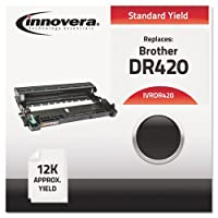 Innovera Remanufactured DR420 Drum, 12000 Page-Yield, Black by Innovera