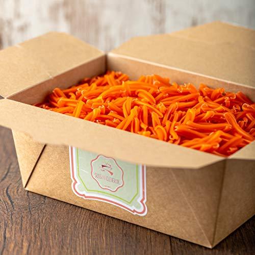 süssundclever.de® Bio Linsennudeln   Strozzapreti aus 100% roten Linsen   1 kg   plastikfrei und ökologisch-nachhaltig abgepackt