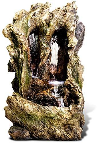 Ambienté 98cm Kaskadenbrunnen Colorado Falls mit LED-Beleuchtung