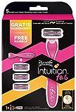 Wilkinson Sword Intuition f.a.b. ventaja Paquete con 3cuchillas y gratis afeitadora, 3unidades)