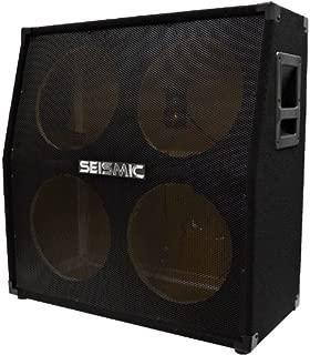 Seismic Audio - SA-412SlantEmpty - 4x12 Slant Empty Guitar Cabinet - No Woofers / Speakers - Live Sound Pro Audio New