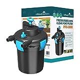 All Pond Solutions PFC-3000-KIT Kit de Filtro de Estanque de Peces Koi a presión/esterilizador UV