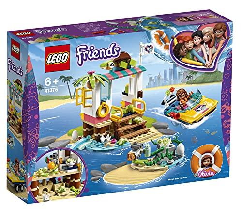 LEGO Friends - Misión de Rescate: Tortugas Nuevo juguete de construcción de Clínica Veterinaria con Lancha de Rescate, incluye Mini muñecas (41376)