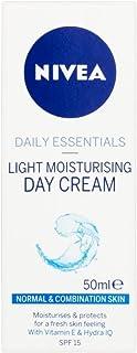 Nivea Visage Daily Essentials Light Moisturising Day Cream SPF 15 (50ml) - Pack of 2 by Nivea