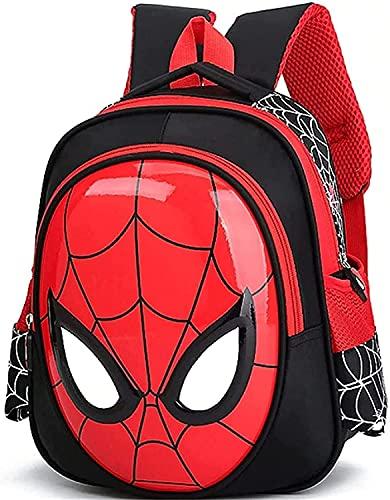 Sac à Dos Spiderman, Cartable de Super-héros, Sacs à Dos d'école, améliorez Votre Enfant à la Maternelle (A1,M)
