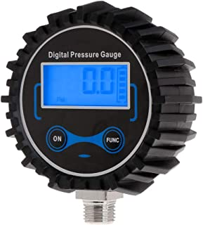 WENWING Digital Tire Pressure Gauge Air PSI Meter Car Motorcycle Bike Tyre Pressure Monitor with Backlit LCD Display