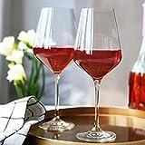 Krosno Große Weiß-Weingläser | Set von 6 | 390 ML | Avant-Garde Kollektion | Perfekt für zu Hause, Restaurants und Partys | Spülmaschinenfest und Mikrowellengeeignet - 7