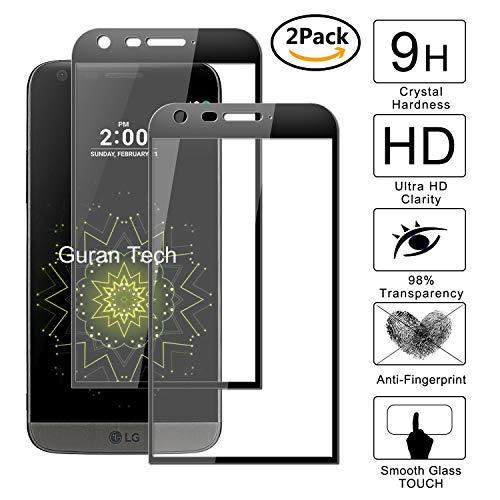 Guran [2 Unidades] Protector de Pantalla Vidrio Cristal Templado para LG G5...