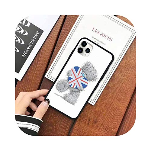 Lovely Teddy Me To You - Carcasa para iPhone 11 12 mini Pro XS MAX 8 7 6 6S Plus X 5S SE 2020 XR-a6-iPhoneXSMAX