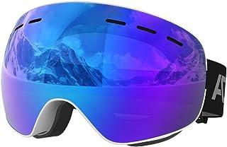 ACURE SG01 Gafas de esquí- Gafas de Snowboard OTG sin Marco