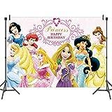 BESLIME Party Hintergrund Dekoration Fee Prinzessin Banner