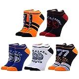 Naruto Anime Mens Sock 5 Pack Gift Set