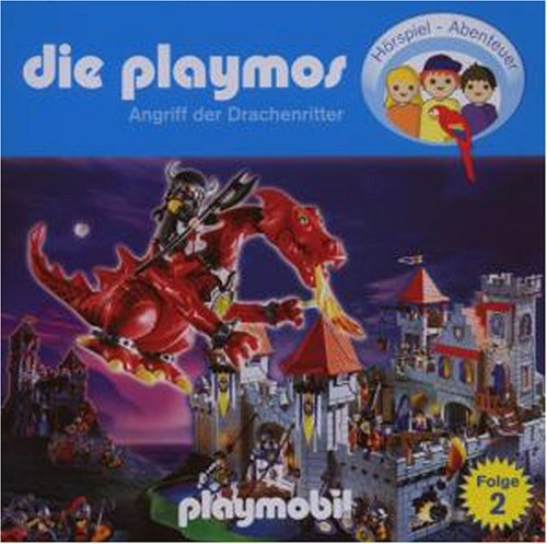 Die Playmos - Folge 2: Angriff der Drachenritter (Das Original Playmobil Hörspiel)