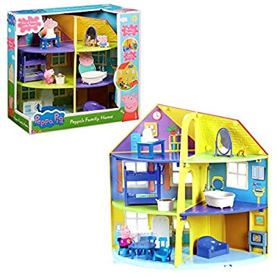 Peppa Pig 06384 Peppa's Family Home Playset by Character Options