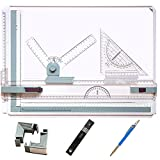 """Frylr Metric A3 Drawing Board Drafting Table with Parallel Motion and Angle Metric Measuring System 20"""" X 14.5"""""""