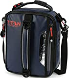 Arctic Zone Titan High Performance Insulated Expandable Lunch Pack, 8' x 4' x 10.25', Navy