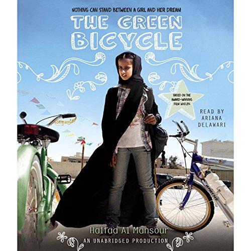 The Green Bicycle audiobook cover art