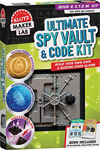 Klutz Ultimate Spy Vault & Code Kit: Maker Lab STEM Kit