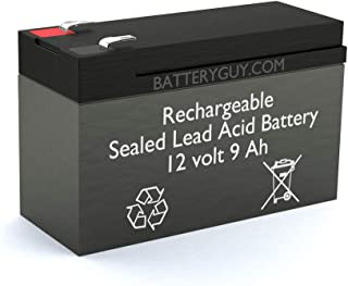 12v 9Ah Rechargeable Sealed Lead Acid (Rechargeable SLA) High Rate Battery