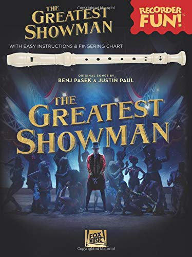 The Greatest Showman: Recorder Fun! (Book/Recorder): With Easy Instructions...