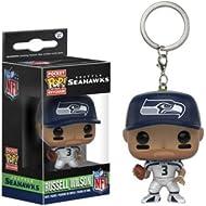 Funko POP Keychain: NFL - Russell Wilson Action Figure