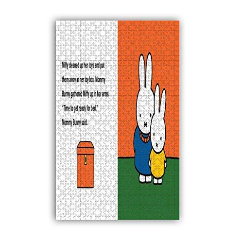 Miffy - Rompecabezas de 1000 piezas para adultos y niños