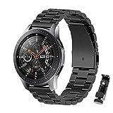 BDIG Cinturino per Galaxy Watch 46mm/Gear S3 Frontier/Classic Bracelet Metallo, 22MM Cinturini di Ricambio Acciaio Inossidabile Strap per Huawei Watch GT/GT 2 46mm/Amazfit GTR 47mm