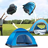 LHLHO 2 Person Instant Pop Up Lightweight Camping Tent, Outdoor Easy Set Up Automatic...