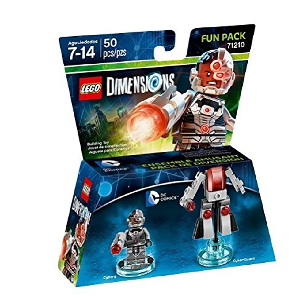 カップパノラマ取り替えるDC Cyborg Fun Pack - LEGO Dimensions by Warner Home Video - Games [並行輸入品]