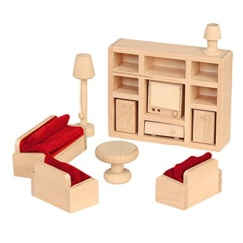 Beluga Puppenhausmöbel aus Holz