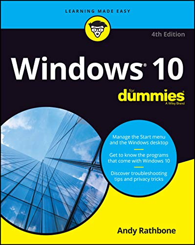 Windows 10 For Dummies, 4th Edition (For Dummies (Computer/Tech))