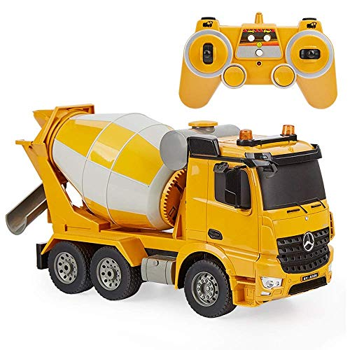 Modelo alejado del coche de cemento de Control Mezclador de