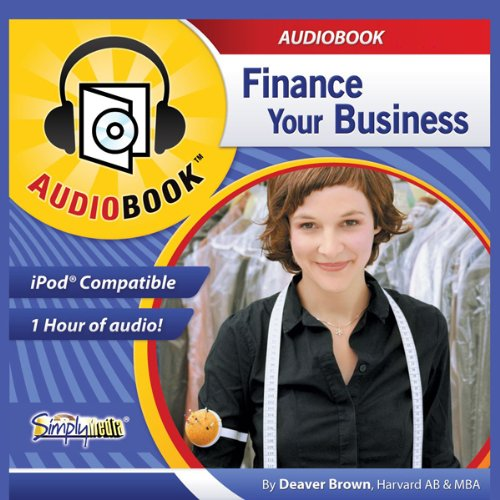 Finance Your Business  audiobook cover art